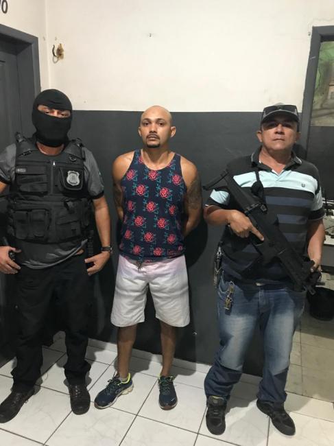 Fugitivo do Distrito Federal é preso em Timon