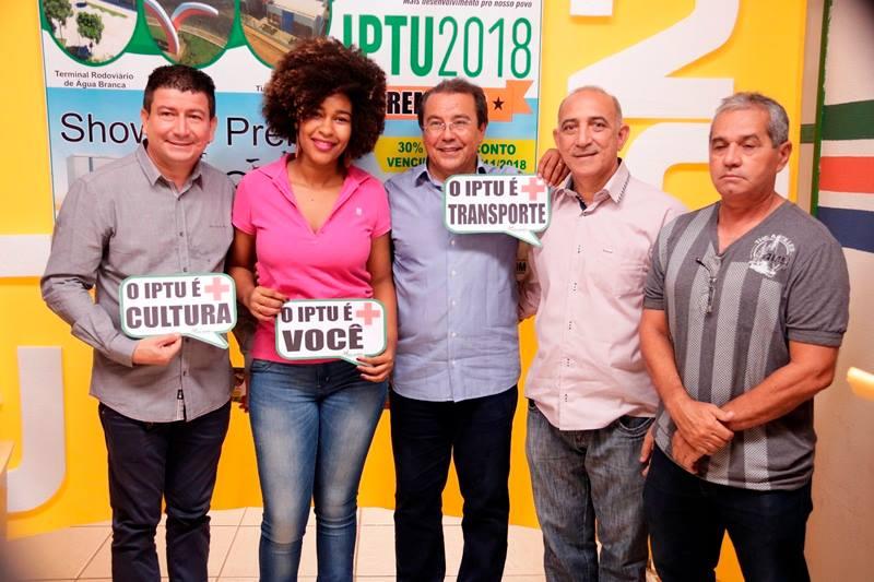 Prefeitura de Água Branca lança Campanha IPTU Premiado 2018