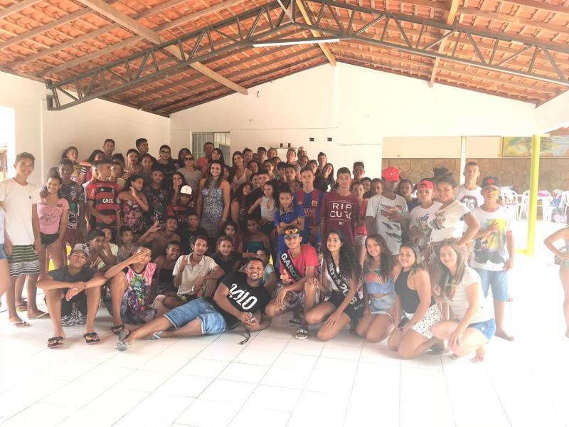 Água Branca: jovens do SCFV participam de manhã de lazer