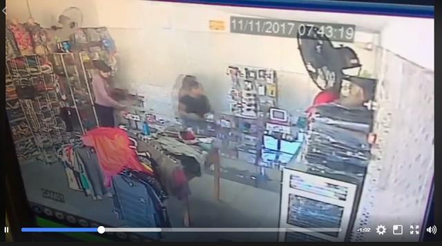 Comércio é alvo de assaltantes em Campo Largo do Piauí