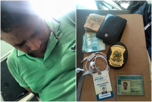 Radialista se passa por fiscal para extorquir dinheiro e é preso no Piauí