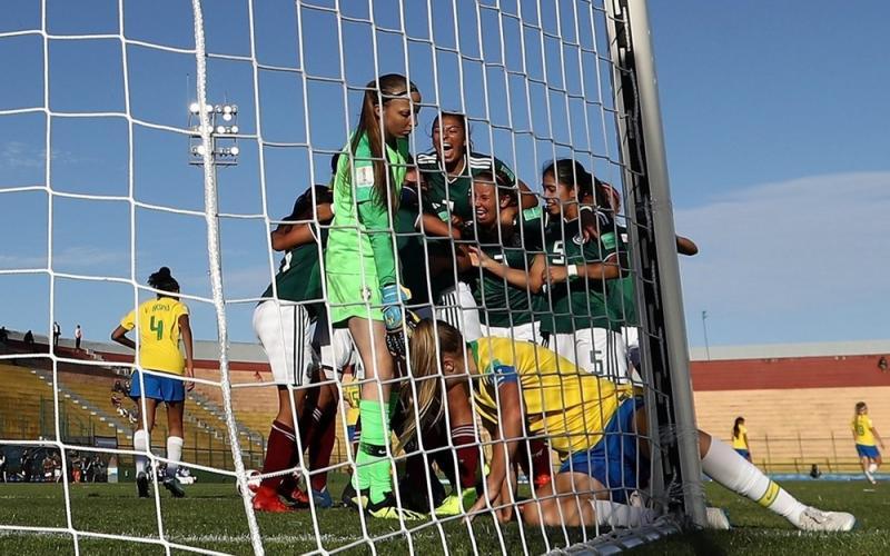 Brasil perde para o México no Mundial Feminino