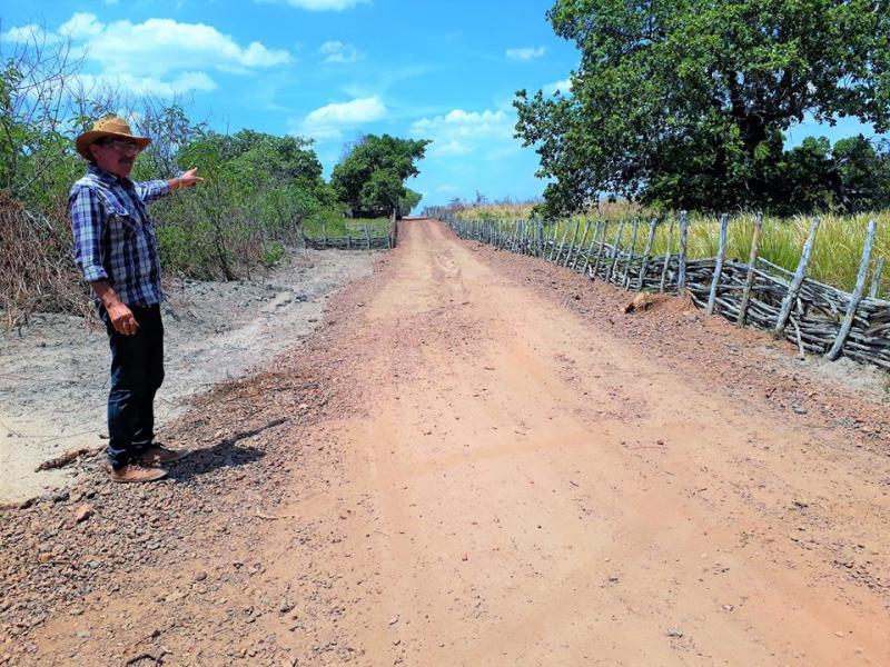 Prefeitura de Joaquim Pires realiza obras na zona rural