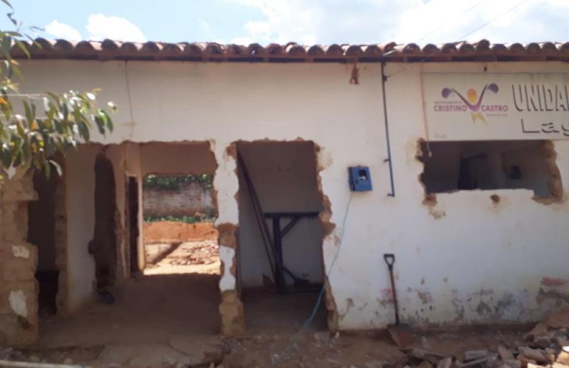 Posto de Saúde da Localidade  Lagoa Grande passa por ampla reforma