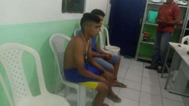 PM prende suspeitos de assaltos na região de Cabeceiras, Barras e Boa Hora