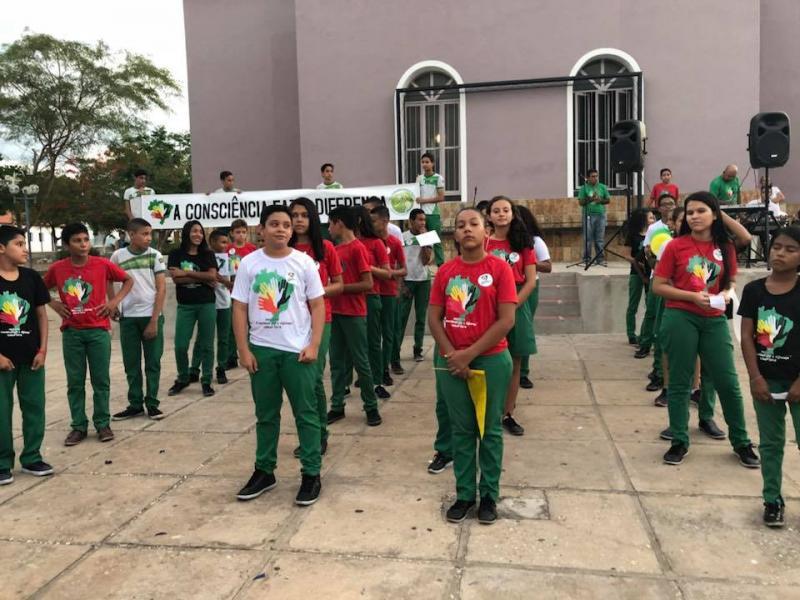 Escola realiza evento em Comemoração ao Dia da Consciência Negra