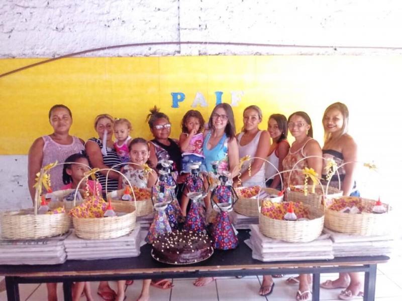 Cras de São Pedro realiza atividade para mulheres