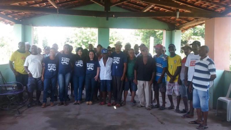 Profissionais da saúde em Amarante atuam em atividades do novembro azul