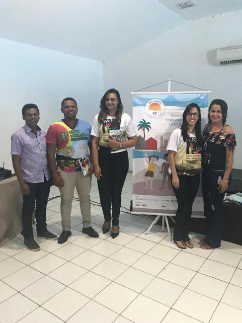 Equipe do município de Água Branca participa do 3º Ciclo de Capacitação do