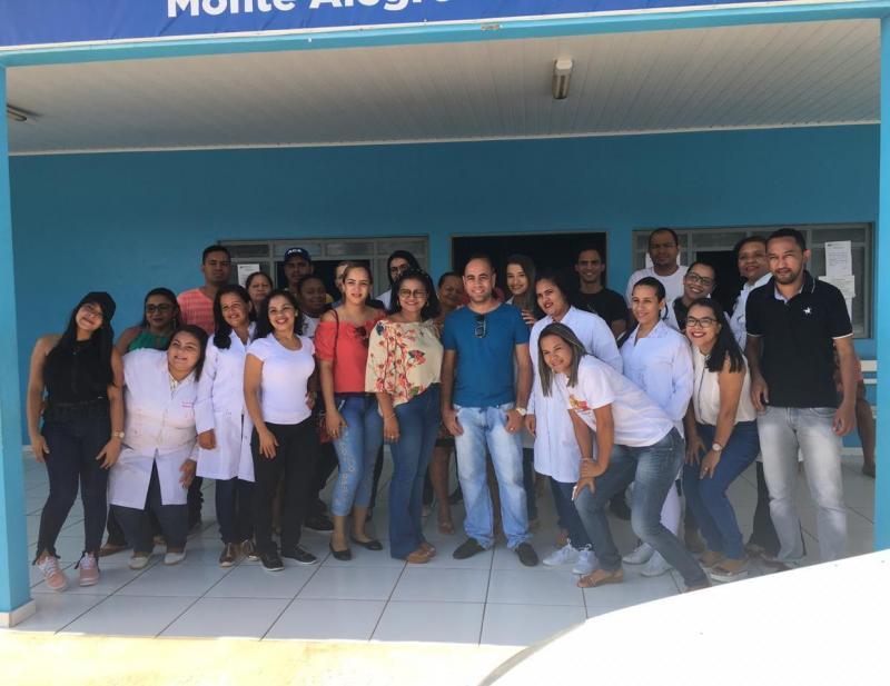 Despedida de médicos cubanos de Monte Alegre-PI
