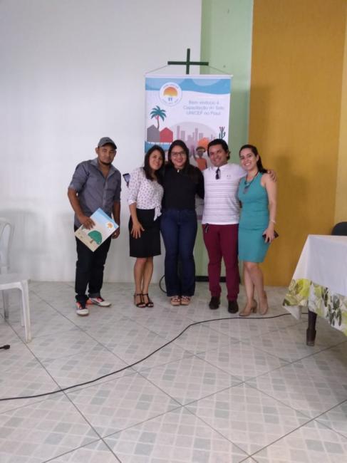 Barra D'Alcântara participa do 3 ciclo de capacitação selo UNICEF em Oeiras