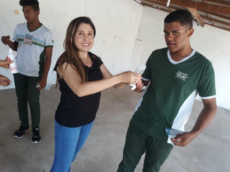 Profissionais do NASF realizam atividades em Escola