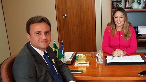 Júnior Bill volta de Brasília com mais recursos assegurados para São Pedro