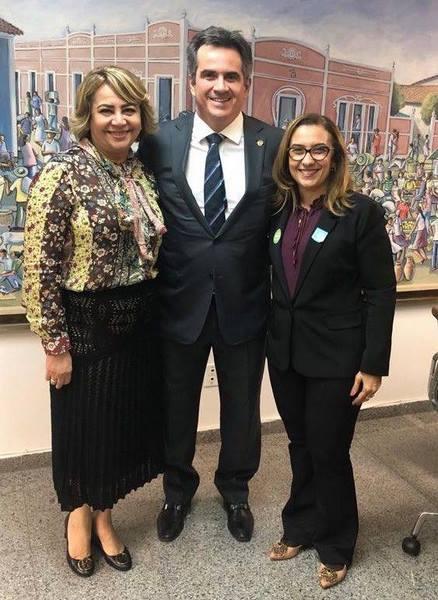 Prefeita Neidinha busca mais recursos com o Senador Ciro Nogueira