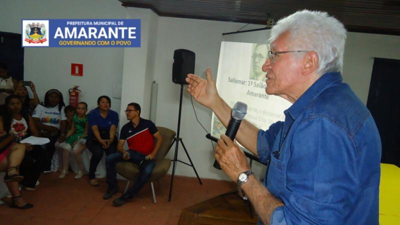 Cineas Santos participa de debate sobre Da Costa e Silva em Amarante