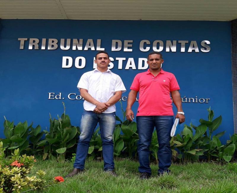 Vereadores realizam visita técnica ao Tribunal de Contas do Estado