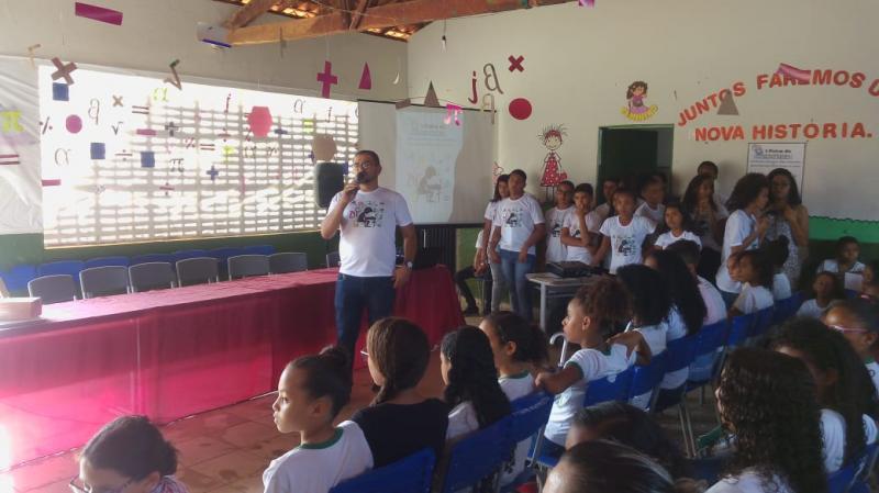 Aconteceu a primeira feira de matemática da UESG e EMEBS