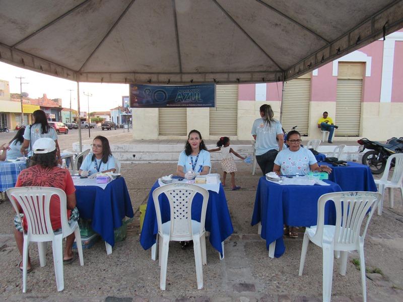 Secretaria de saúde inicia ações para prevenção do diabetes em Oeiras