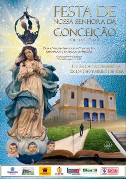 Festa de Nossa Senhora da Conceição acontecerá de 28/11 a 08/12 em Oeiras