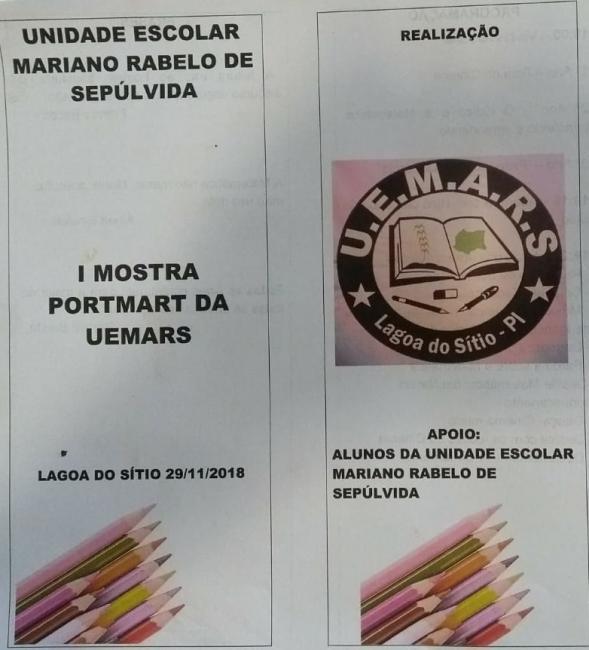 ESCOLA REALIZARÁ I MOSTRA CULTURAL