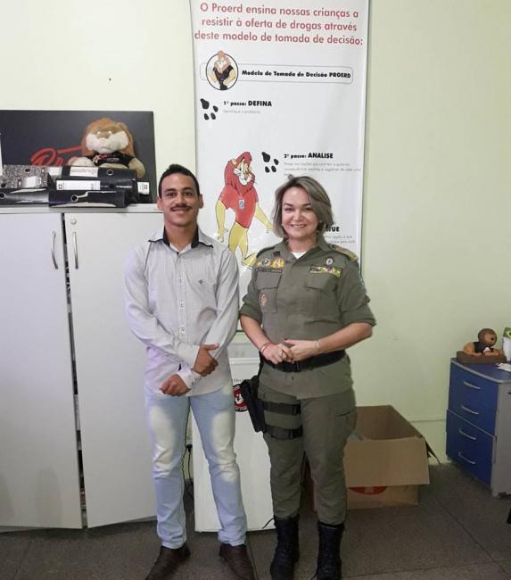 Vereador Henrique Guerra viabiliza programa PROERD para o município de Gilbués-PI