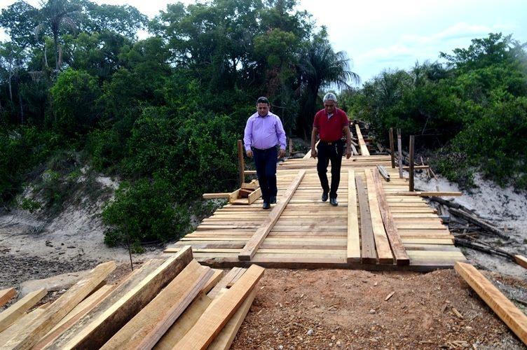 Prefeitura de Campo Maior está reconstruindo a Ponte da República