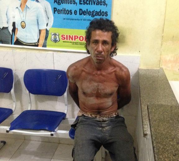 Pescador é preso após ameaçar a esposa de morte com ferro pontiagudo