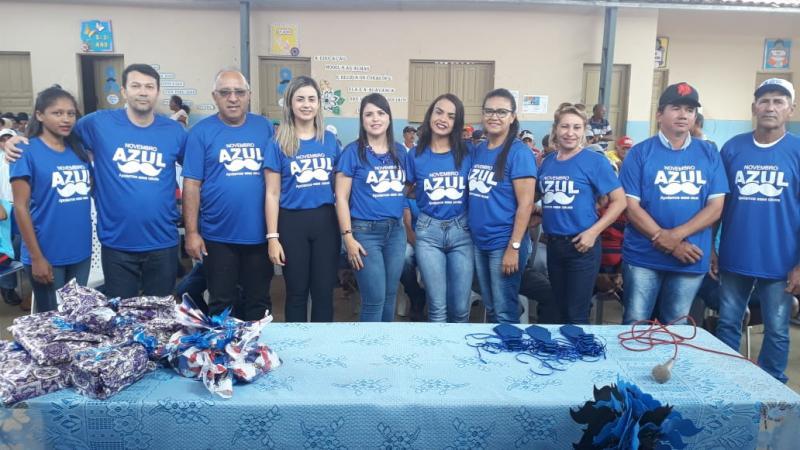 Prefeitura e SMS de Coronel José Dias realizam evento sobre Novembro Azul