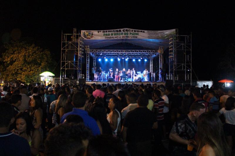 I Semana Cultura de Pau D'arco é encerrada com grande show