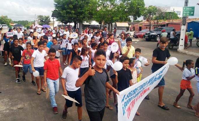 Barro Duro realiza caminhada de prevenção e combate ao Aedes Aegypti