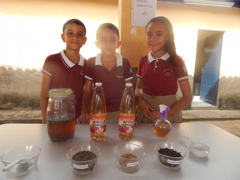 Escola realiza oficina com reaproveitamento de alimentos