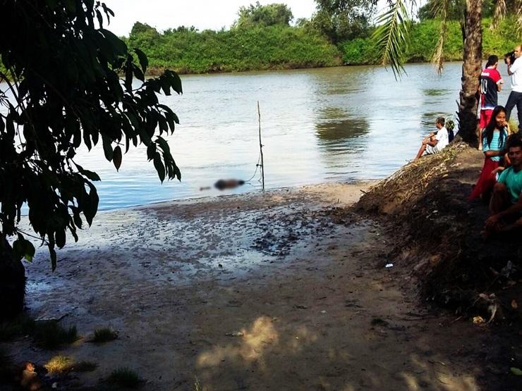 Corpo de homem é encontrado em estado de decomposição no rio Igaraçu