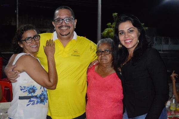 Eu, minha esposa, minha sogra e a Vereadora Surama Martins
