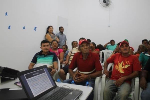 PMV E SMA , realizou palestra com catadores de materiais recicláveis