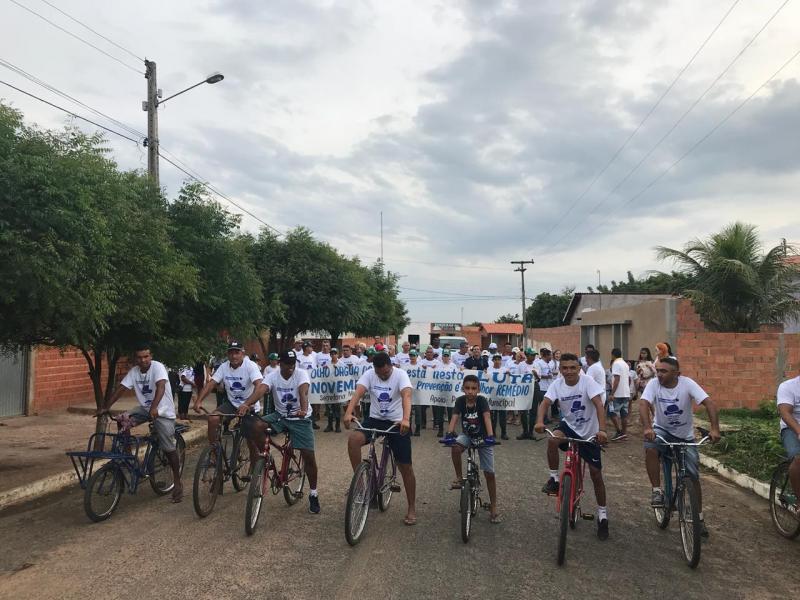 Olho D'água realiza ação em prol da Campanha Novembro Azul