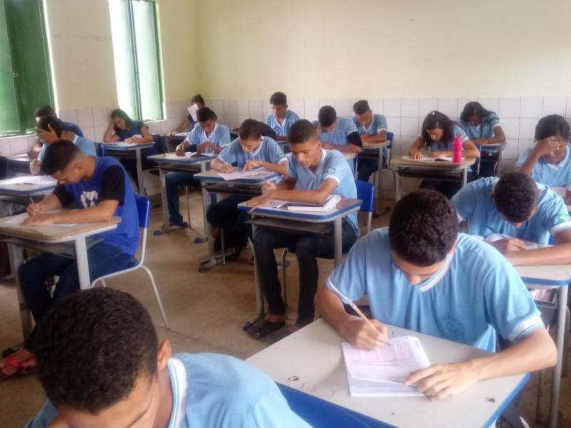 Escola Estadual realiza avaliação do SAEPI