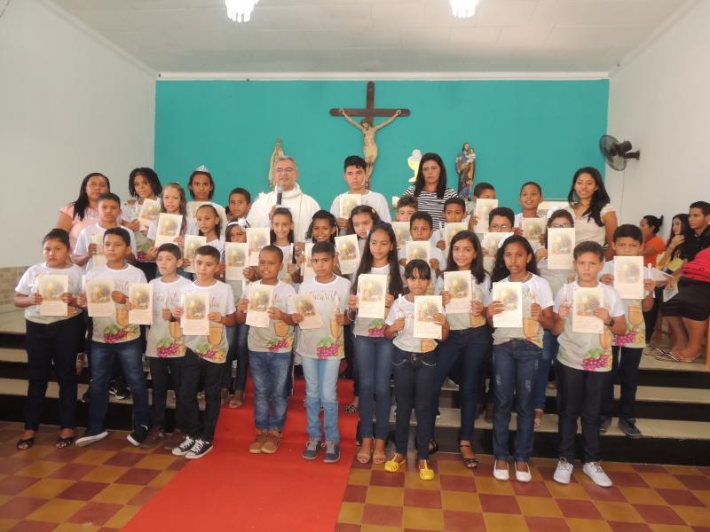 Primeira Eucaristia da Paróquia São José de Campo Largo-PI