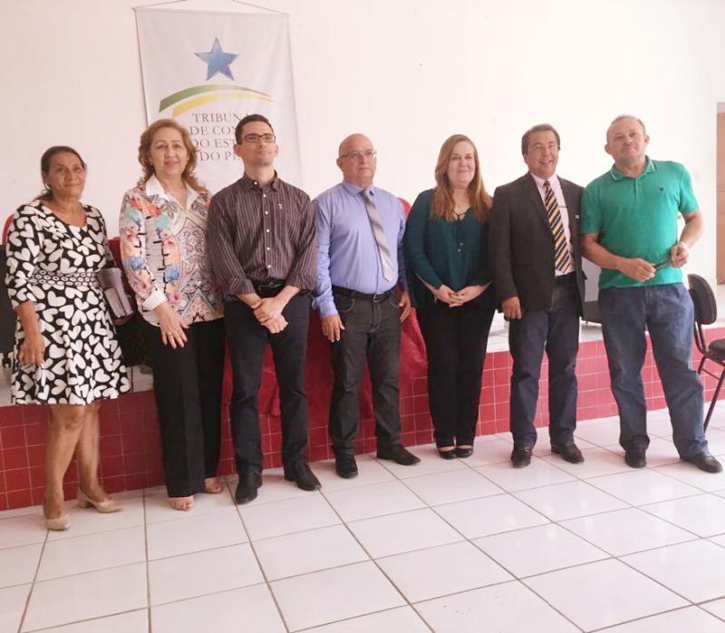 Prefeito de Olho D'água participar do treinamento do IEGM realizado pelo TCE