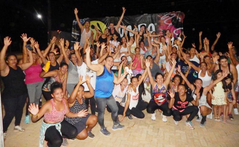 III Aulão de Zumba Master em Cristino Castro foi um sucesso