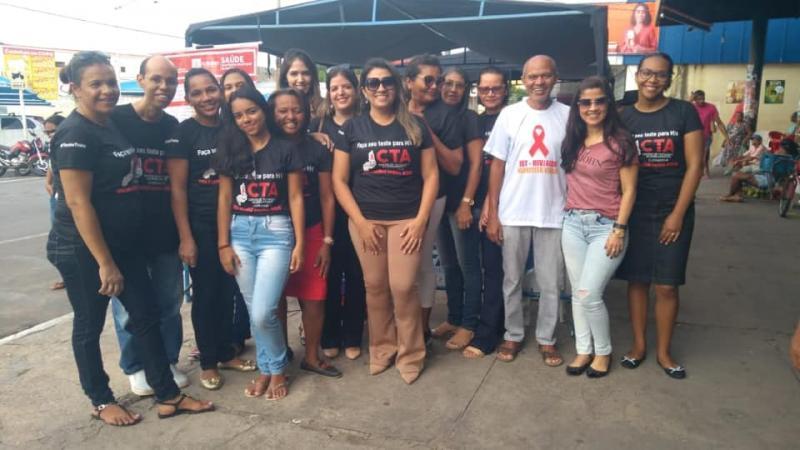 Ação de prevenção e combate ao vírus HIV é realizada em Floriano
