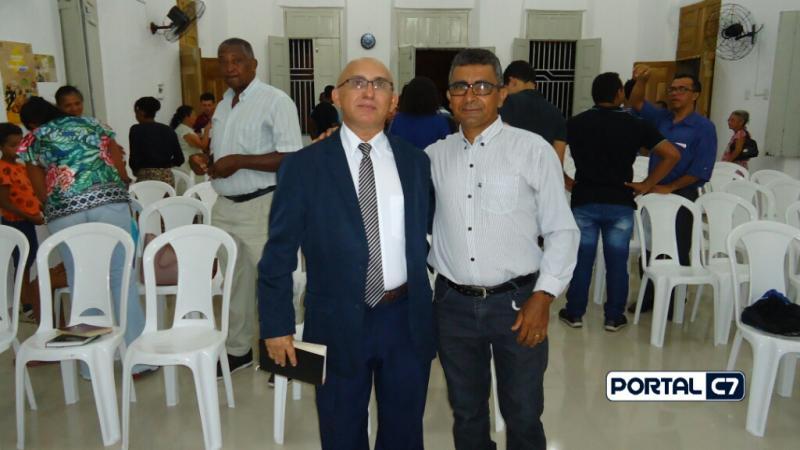 Igreja Batista Ebenézer recebe Pastor Josineide com a Palavra de Deus
