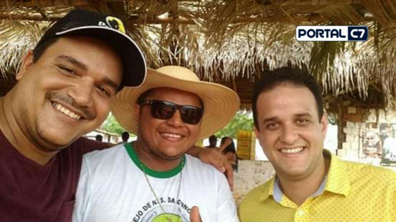 Diego Teixeira participa da 19° Cavalgada do Vaqueiro em Palmeirais