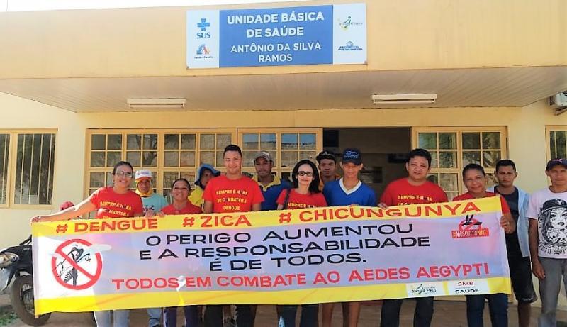 ESF de Joaquim Pires realiza semana Nacional de Combate ao Aedes Aegypti