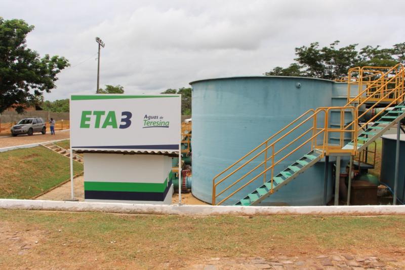 Após chuvas, abastecimento de água é reduzido em Teresina