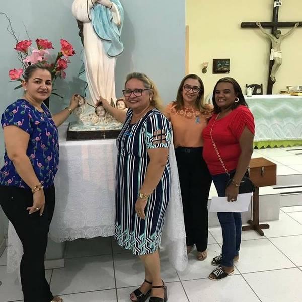 Prefeita Neidinha Lima prestigia abertura dos festejos de Artur Passos