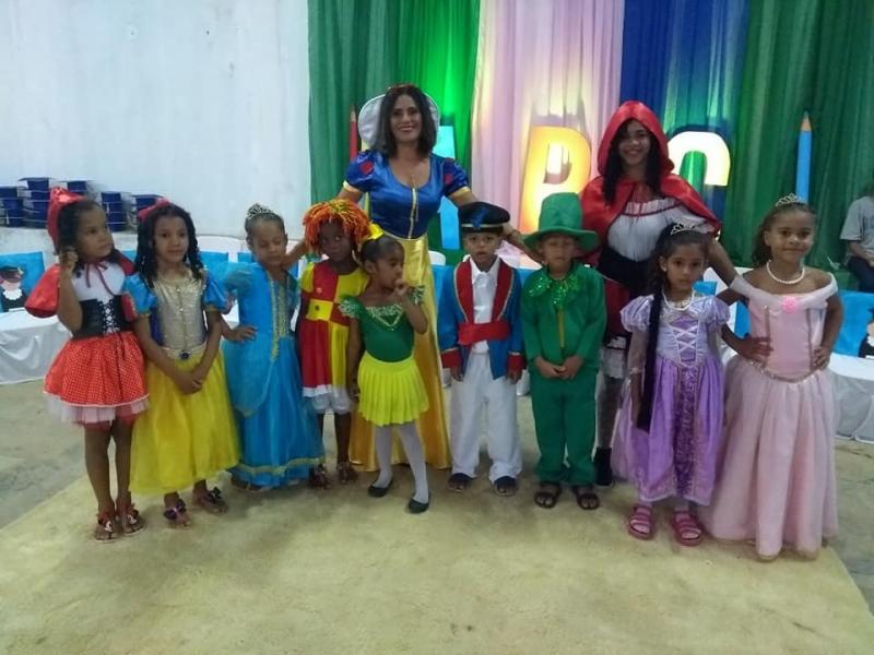 CEI Dalva Andrade realiza formatura infantil em São Pedro do Piauí