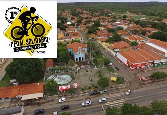 1° Pedal Solidário de Demerval Lobão, dia 08 de dezembro