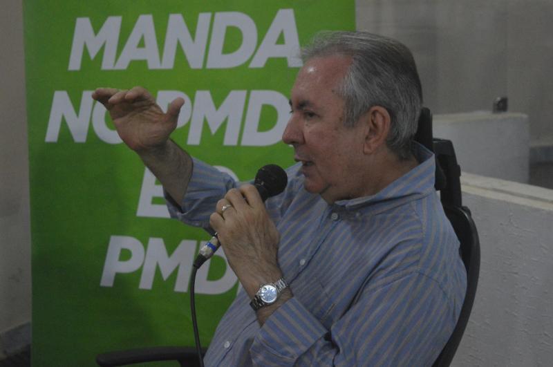 João Henrique diz que PMDB será mais forte com candidatura a governador