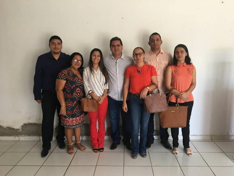 Prefeito de Demerval Lobão e equipe administrativa participam de treinamento sobre IEGM