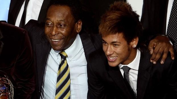 Pelé revela puxão de orelhas em Neymar após a Copa